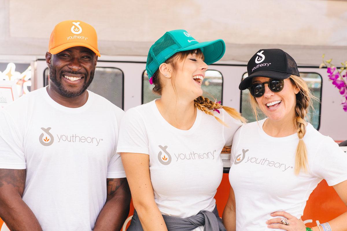 Youtheory Brand Ambassadors smiling